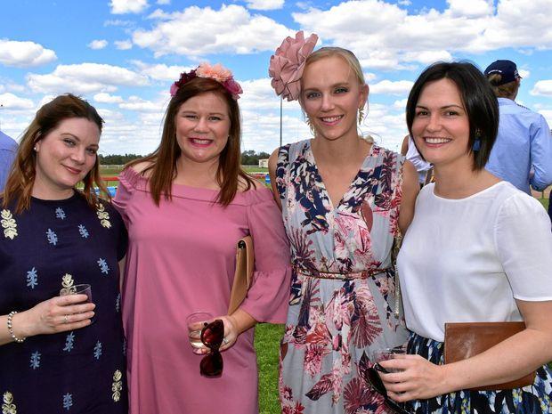 Siobhan See, Elyse Anderson, Jess Huntley and Rose Brownlie.
