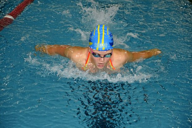 Warwick swimmer Caitlin Skaines will compete in the McNamara Sprints on Sunday.