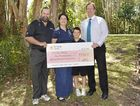 GRATEFUL: IBN Direct hands over $5000 to STEPS Charity for its Pathways Project.
