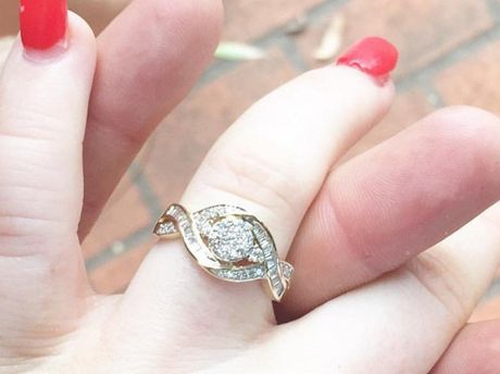 Mountain Creek resident Madison Aston's engagement ring was stolen from her family car parked in Wilderness Circuit.