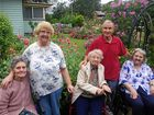 Spring was not the only thing that arrived for keen Bald Hills gardeners Vi and Ben Martinez who recently had a special visit from nursing home residents.