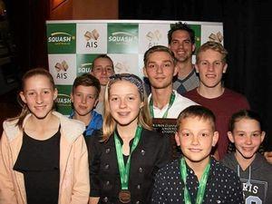 Sandgate Squash juniors win age champions