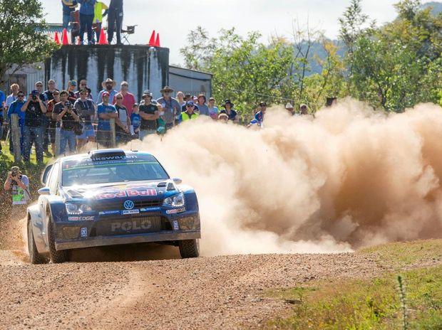 STOPPING POWER: Sébastien Ogier's car controller Martin Hassenpflug tuned his Polo into a world champion car.