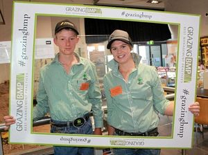 Cameron Hoskings and Cassie Johnston, of Emerald Agricultural College.
