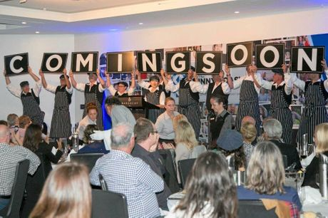 EXCITED: The Fresh Meats team were brimming with excitement at The Sunny Coast Club's meeting.