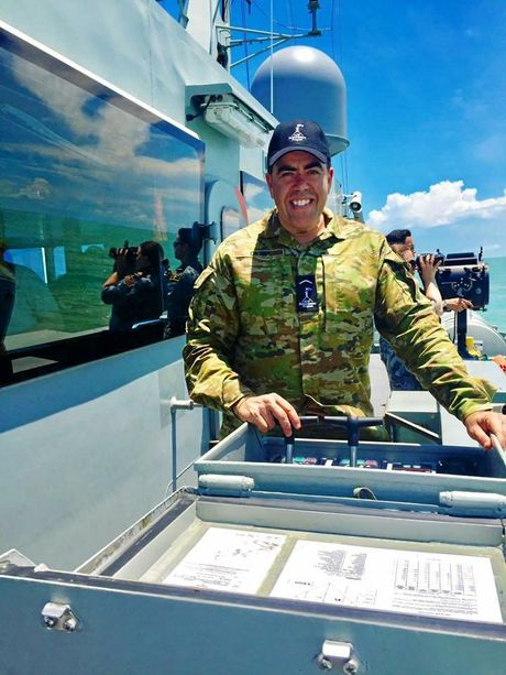 MILITARY VISIT: Federal Member for Oxley Milton Dick had the opportunity to travel to Darwin to take part in a number of military exercises through the Australian Defence Force Parliamentary Program.