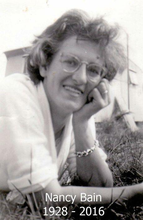COMMUNITY-MINDED: Nancy Bain.