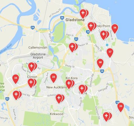 UP FOR GRABS: Households across Gladstone are holding garage sales this weekend.