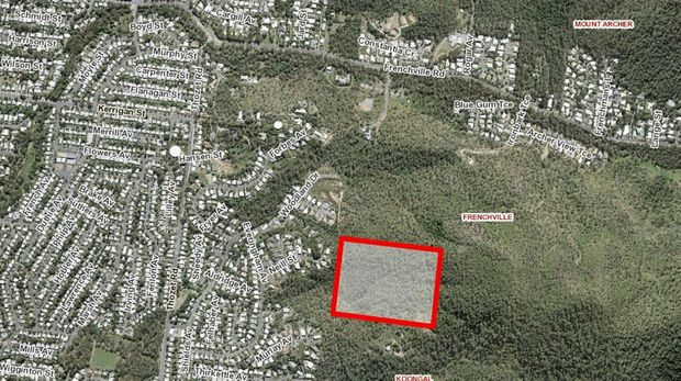 The 12ha block of land which was the subject of a residential development discussed in a Rockhampton Regional Council committee meeting.