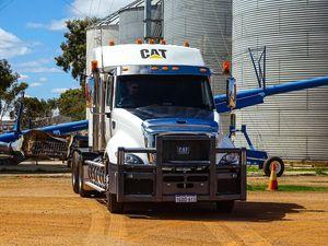 Nicoletti's use Cat's biggest prime mover for grain operation