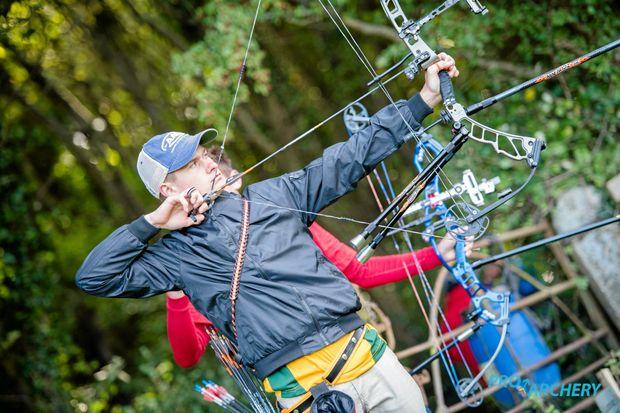 ON TARGET: Remy Leonard at the World Archery Field Championships held in Bray, near Dublin, Ireland.