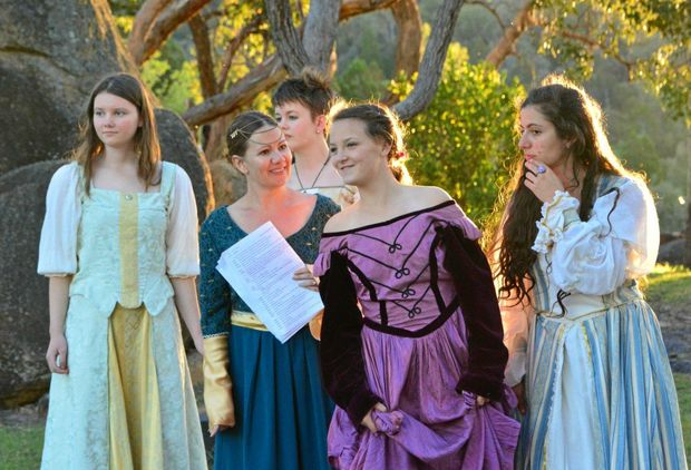 This year's Shakespeare Under the Stars performance of All's Well That Ends Well will be led by an all female cast.