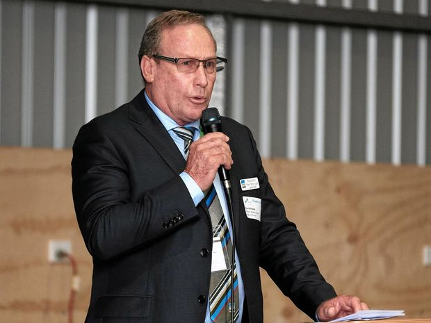 AIMING HIGHER: Western Downs Regional Council mayor Paul McVeigh has called for 60% live-local targets for gas companies.