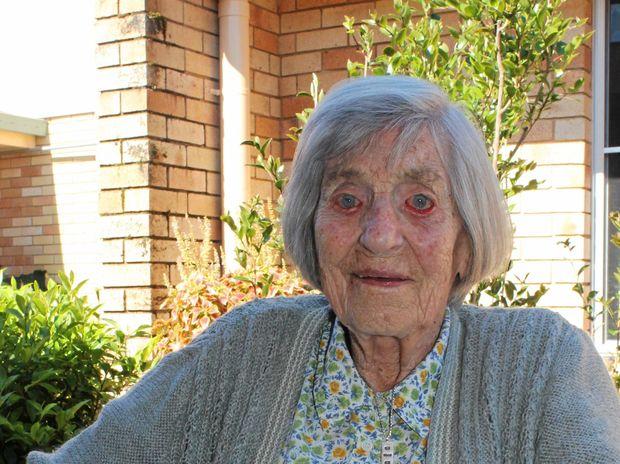 HAPPY DAYS: Miep Heeringa turns 104 years old.