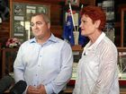 Pauline Hansen announces Damian Huxham as the One Nation candidate for Hervey Bay in the next state election.