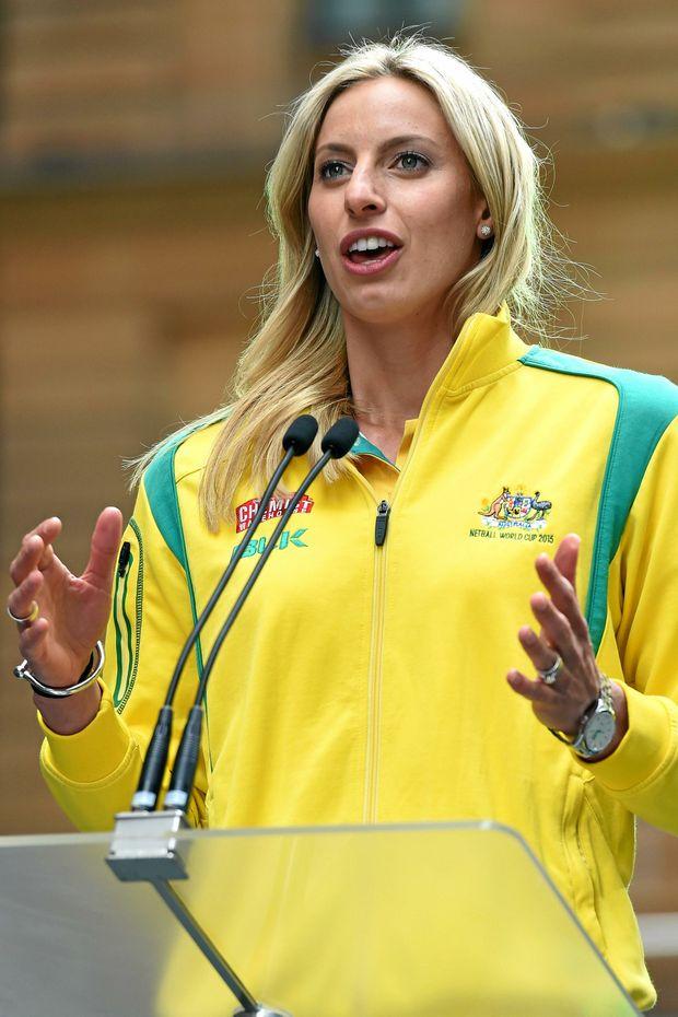 SUPERSTAR: Australian netball team captain Laura Geitz will host a clinic in Mackay next month.