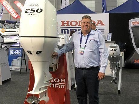 Honda Marine Gladstone dealer principal Lee Barford is excited to start servicing Honda outboards.
