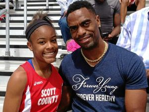Fourth man charged over shooting of Olympic sprinter's daughter