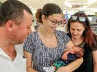 Family's new arrival in face of tragedy