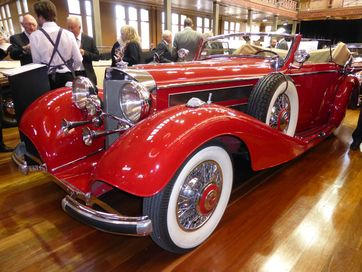 2016 Motorclassica motor show, Royal Exhibition Building, Melbourne.