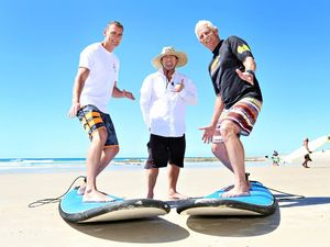 Surf's up for veteran health