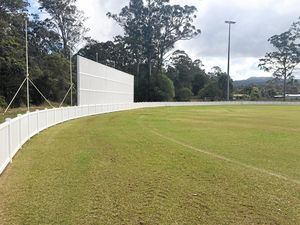 HOWZAT: Landsborough Sports Complex has just been upgraded.