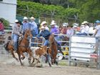Lee Kimber in three events at APRA national finals at Warwick Rodeo