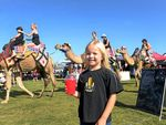 FUN DAY: Madison Graham enjoyed the afternoon at the Lighthouse Festival last year.
