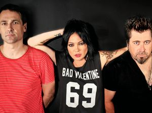 DOWN AGAIN: The Superjesus are Paul Berryman on drums, Sarah McLeod on lead vocals and Stuart Rudd on bass guitar.