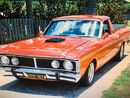 A 1971 Ford Falcon ute which has only done 100km in 14 years is on the market for $50,000.