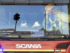 Fire fighters battle house fire in Southern Downs region