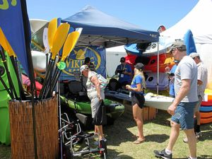 ON SHOW: The Home Show and Caravan, Camping and Boating Expo is on today and tomorrow.