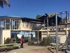 BREAKING: Building destroyed in 'suspicious' school fire