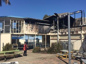 Crime scenes at two CQ schools with 'suspicious' fires