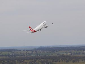 China Flight from Toowoomba
