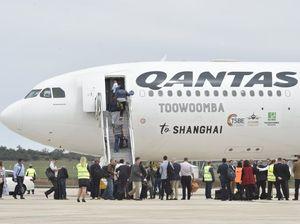 Shanghai flight from Wellcamp makes history
