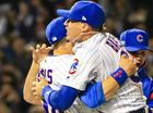 The two Major League franchises with the longest title droughts will go head to head in the World Series after the Chicago Cubs' 5-0 win over the LA Dodgers.
