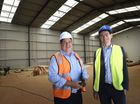 Vanguard Commercial Laundry nears completion, General Manager Shane Walters (left) with Toowoomba Clubhouse CEO Luke Terry on site . October 24, 2016