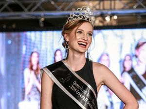 CROWNING GLORY: Charlie Austin competed at Miss Teen and won the title of Qld Miss Teen Senior Overall Winner from girls across Queensland. Photo: Isabella Photography