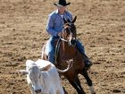 Action hots up at the Warwick Showgrounds in campdrafting week