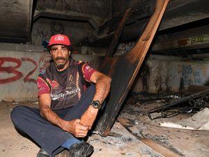 Homeless furniture bunt in Bundaberg