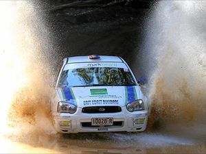 Local stars making a Rally Australia splash