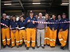 Orange Hill Rural Fire Brigade open new shed