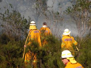 Firefighters battling three blazes across region