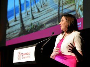 Premier Annastacia Palaszczuk at the launch of Destination Q in Mackay.