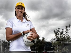 PRIMED: Geva Mentor is itching to play for the Sunshine Coast Lightning.