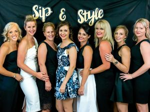 The committee from last year's Sip in Style who are planning this year's event.