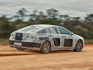 FULL CAMO: Confirmation Holden's new Commodore will be based on the Opel Insignia and feature an all-wheel-drive V6 model as its flagship. It arrives here in early 2018.