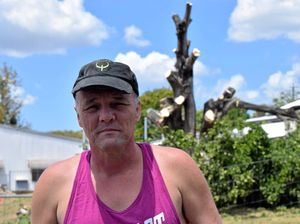 Resident Wesley Dodt is angry the tree on Murray Views has been demolished.