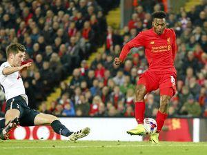 Sturridge double helps Liverpool into cup quarter-finals